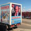 Hình ảnh ông Putin được sử dụng để bán hàng ở Trung Quốc