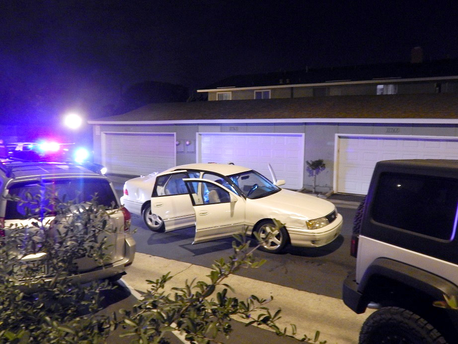 A teen was found with a gunshot wound inside a vehicle in Santa Ana shortly after 2am Sunday morning. The victim was found at Lilac Avenue and Sterling Court.