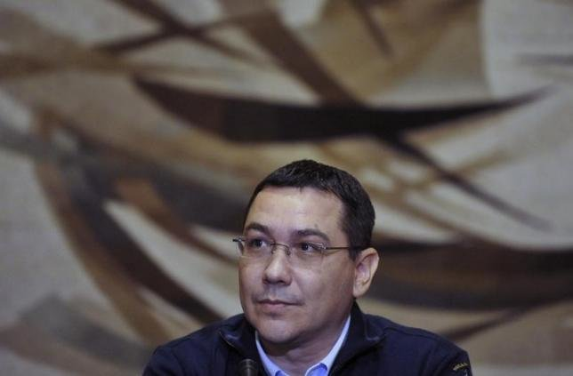 Romania's Prime Minister Victor Ponta attends a news conference in Bucharest November 17, 2014. REUTERS/Grigore Popescu/Files