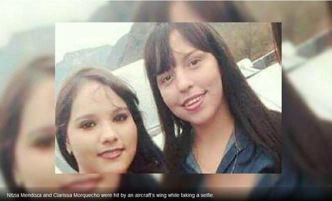 Hai thiếu nữ Mexico bị máy bay quẹt chết khi chụp ảnh tự sướng